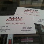Offset Printing Business Card